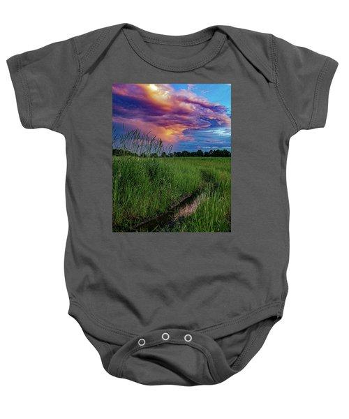 Meadow Lark Baby Onesie