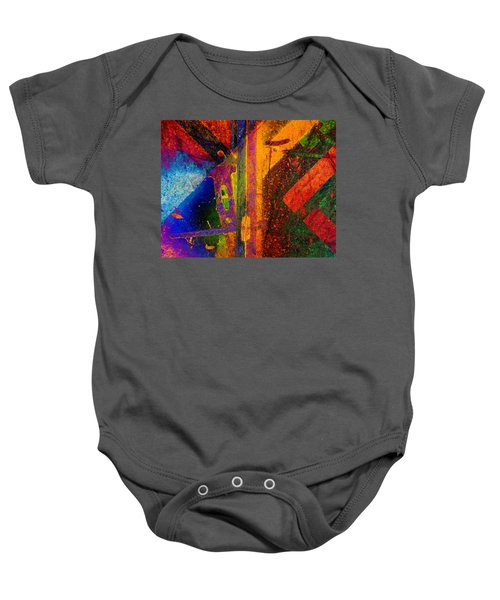 Mechanical Drawing Baby Onesie