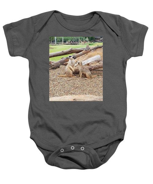 Meerkats  Baby Onesie