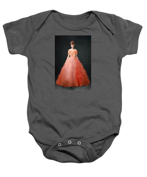 Baby Onesie featuring the digital art Melody by Nancy Levan