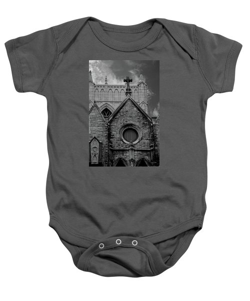 Memphis Cross In The Clouds Bw Baby Onesie