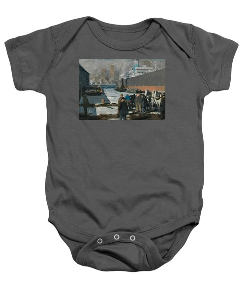 Men Of The Docks Baby Onesie