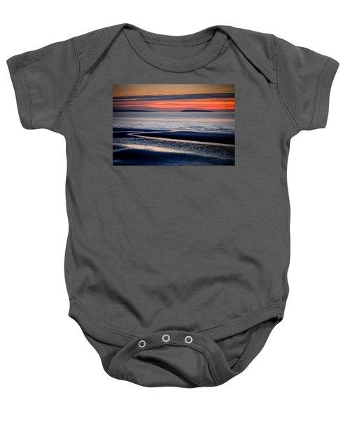 Menai Strait Baby Onesie