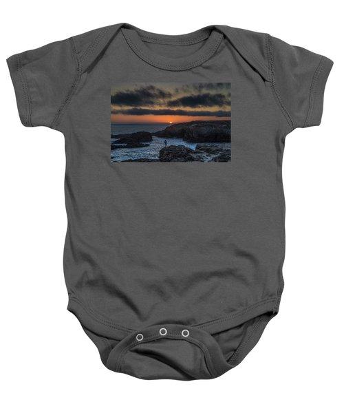 Mendocino Sunset Baby Onesie