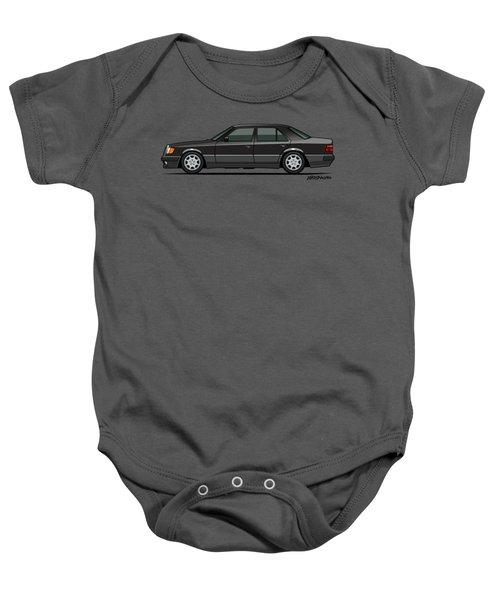 Mercedes Benz 500e W124 Blue-black Metallic Baby Onesie