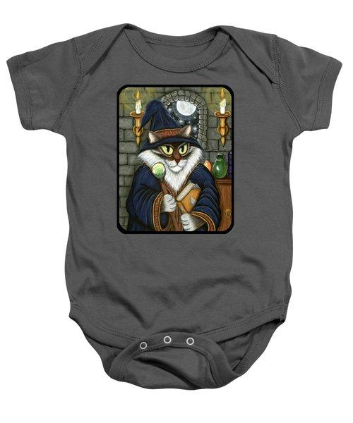 Merlin The Magician Cat Baby Onesie