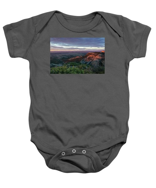 Mesa Verde Soft Light Baby Onesie
