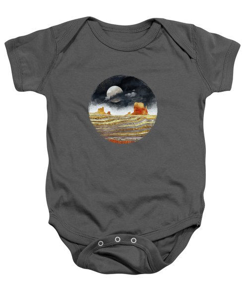 Metallic Desert Baby Onesie by Spacefrog Designs