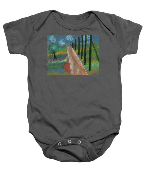 Middle Of Nowhere Baby Onesie