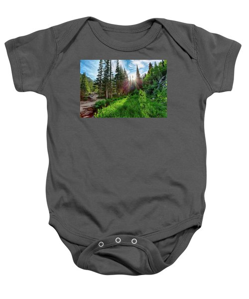 Baby Onesie featuring the photograph Midsummer Dream by David Chandler