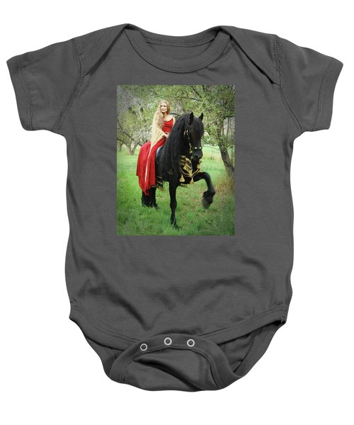 Mighty Step Baby Onesie