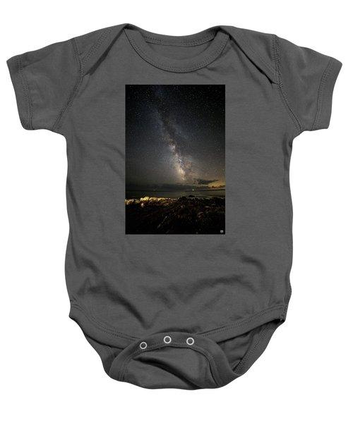 Milky Way At Pemaquid Baby Onesie