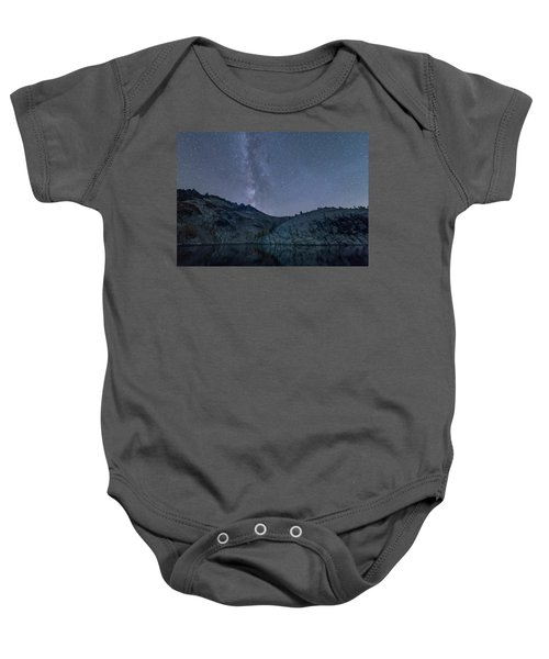 Milky Way At The Enchantments Baby Onesie