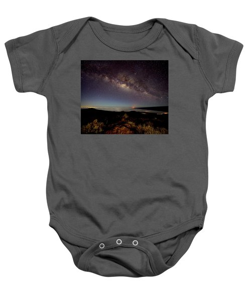 Milky Way From Mauna Kea Baby Onesie