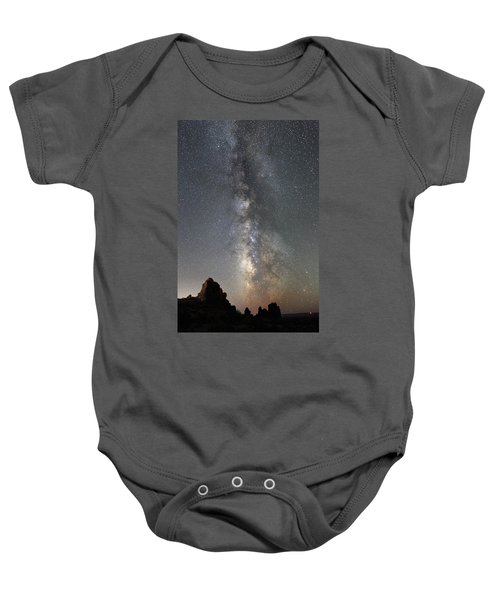 Milky Way Over Arches Np  One Baby Onesie