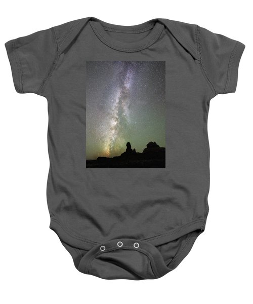 Milky Way Over Arches Np Four Baby Onesie