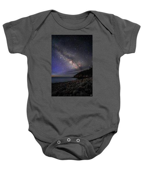 Milky Way Over Boulder Beach Baby Onesie