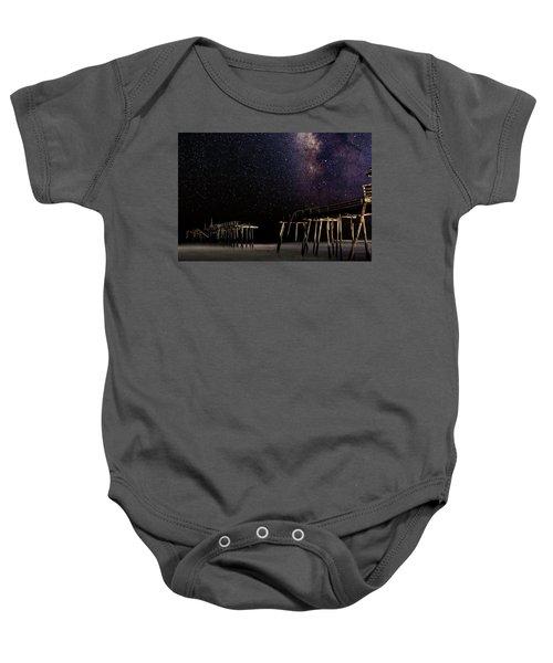 Milky Way Over Frisco Baby Onesie