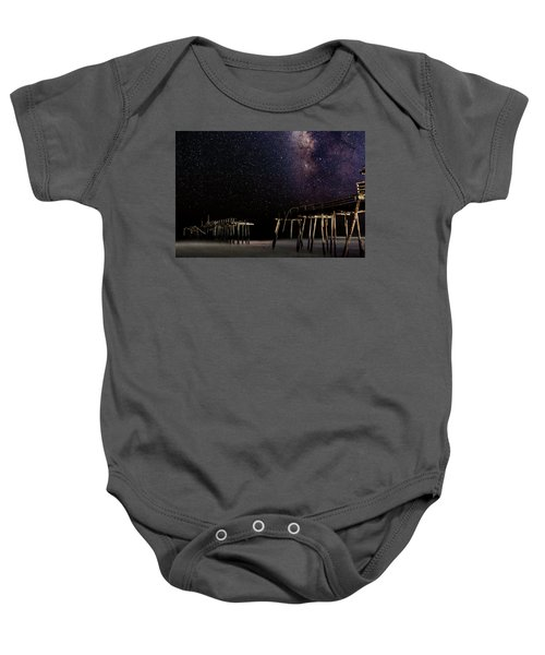 Milky Way Over Frisco Baby Onesie