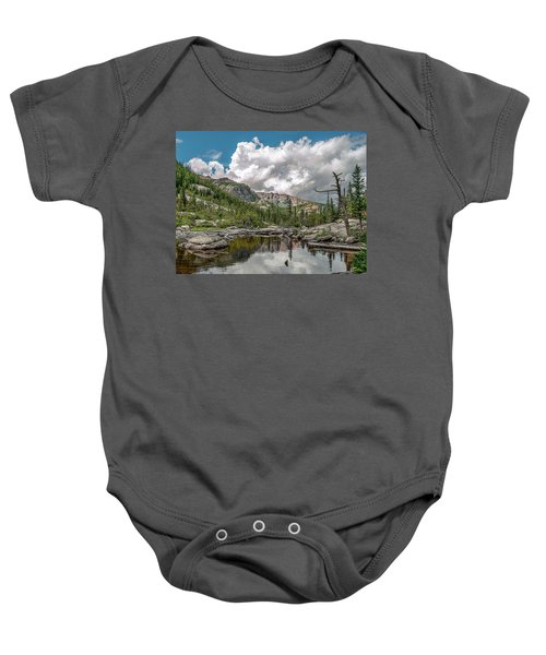 Mills Lake 5 Baby Onesie