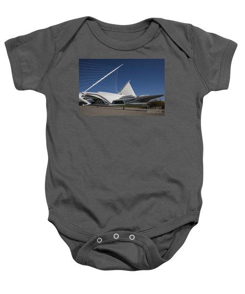 Milwaukee Art Museum Baby Onesie
