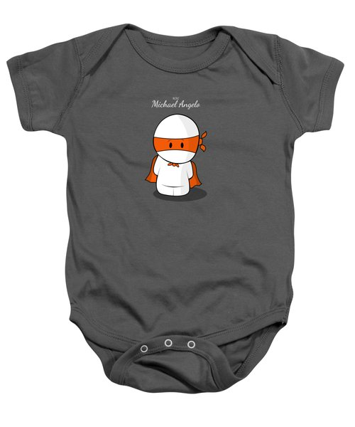 Mini Super Hero Baby Onesie