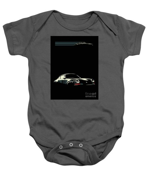 Minimalist Porsche Baby Onesie