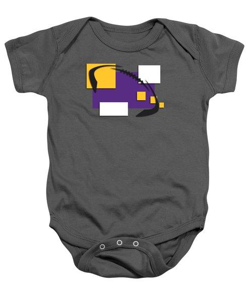 Minnesota Vikings Abstract Shirt Baby Onesie