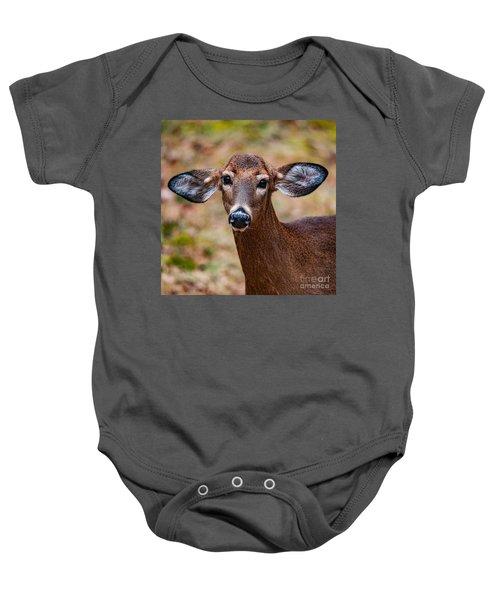 Miss Deer 1 Baby Onesie
