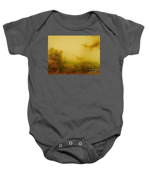 Misty Yellow Hue- El Valle De Anton Baby Onesie