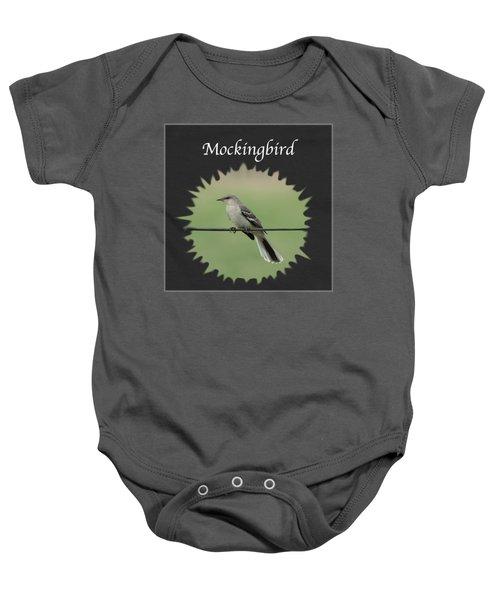 Mockingbird      Baby Onesie by Jan M Holden