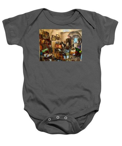 Modern Art Studio Baby Onesie