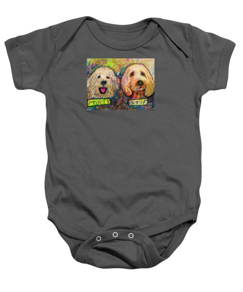 Molly And Katie Baby Onesie