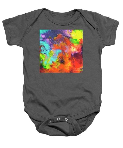 Momentum, Canvas Three Baby Onesie