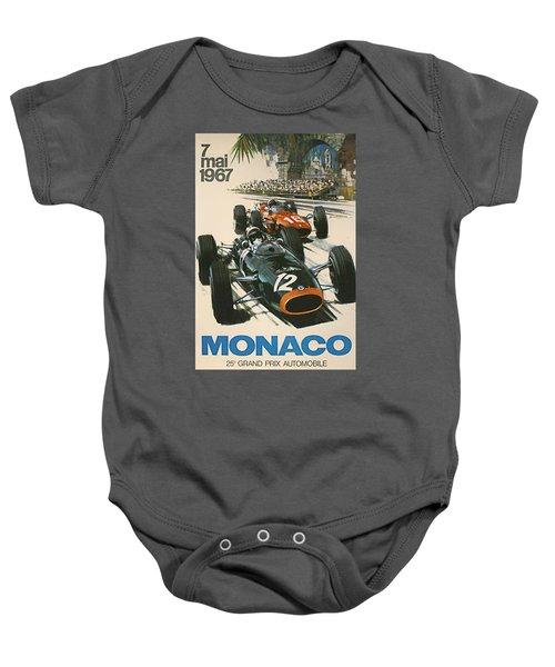 Monaco Grand Prix 1967 Baby Onesie