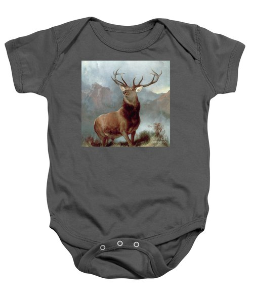 Monarch Of The Glen Baby Onesie