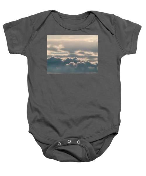 Monsoon Clouds Baby Onesie