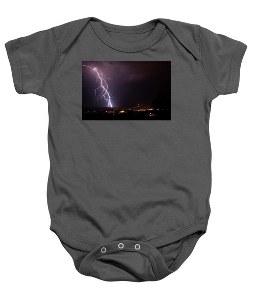 Monsoon Storm Baby Onesie