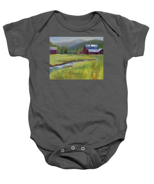 Montana Ranch Baby Onesie