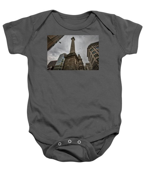 Monument To The Great Fire Of London Baby Onesie
