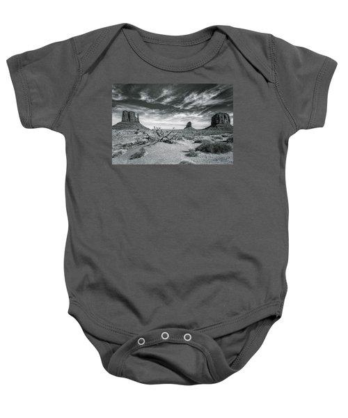 Monument Valley Baby Onesie