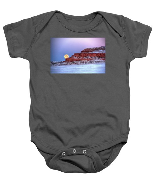 Moon Of The Popping Trees Baby Onesie