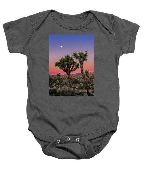 Moon Over Joshua Tree Baby Onesie