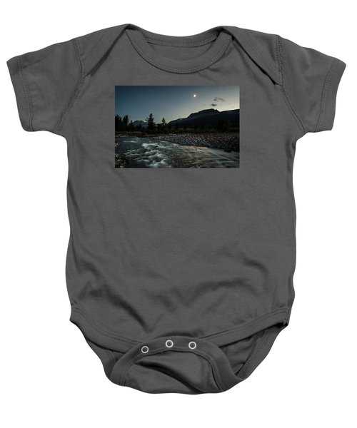 Moon Over Montana Baby Onesie