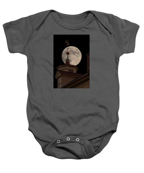 Moon Over Mount Vernon Baby Onesie