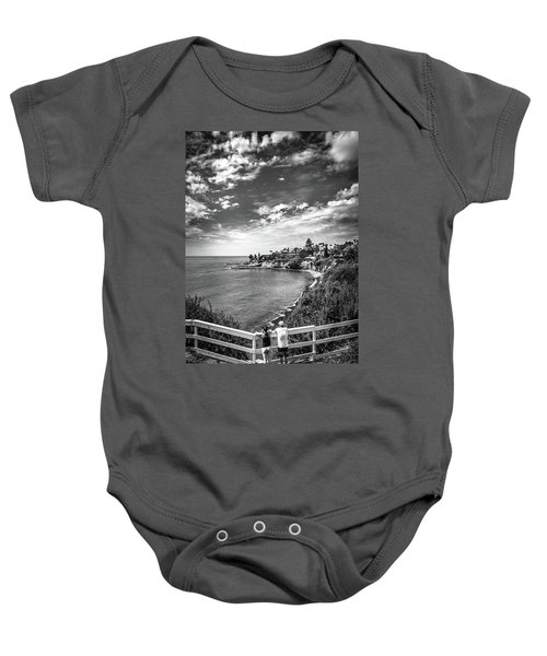 Moonlight Cove Overlook Baby Onesie