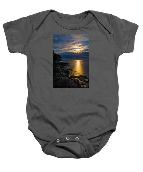 Moonrise From The Cloudbank Baby Onesie