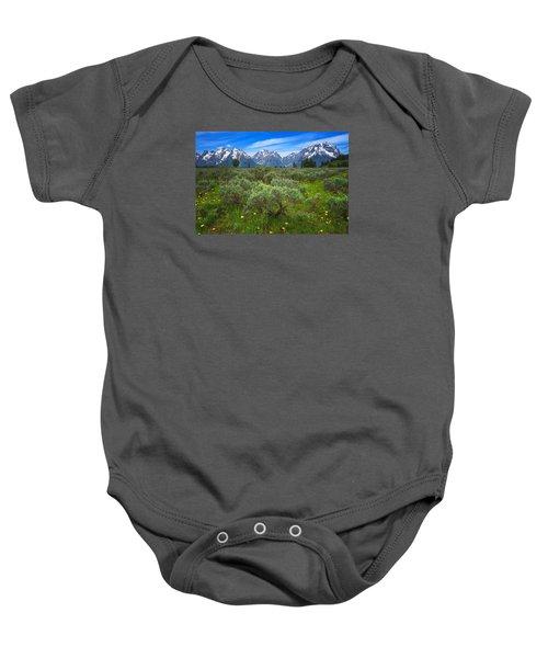Moran Meadows Baby Onesie