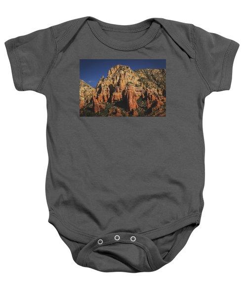 Mormon Canyon Details Baby Onesie