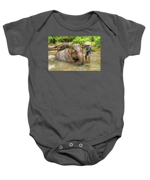 Morning Ablutions 4 Baby Onesie by Werner Padarin